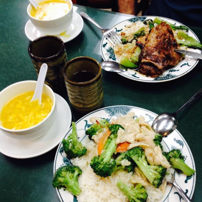 Jantinha deliciosa em Chinatown.